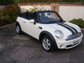 2010 Mini Cooper Cabriolet, very low miles, MOT, stunning bargain!!!