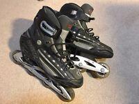 Size 13 / 48 Roces Roller Blades Black