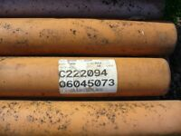 roofing tiles& plasic pipes are new.