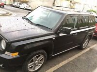 Black Jeep Patriot 2.4 Sport 5-door 4x4.- Full Service History - Low Mileage- Good Condition