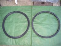 Two Unused Bicycle Tyres - £5.00 each
