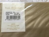 Yes Delorme Paris brand new fitted sheet RRP £130