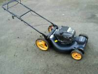 Large 21inch mcculloch selfpropelled petrol lawnmower
