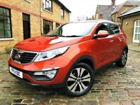 KIA Sportage 1.7 CRDi 3 2WD 5dr£6,490 p/x welcome ***ONLY 1 OWNER**FULL S/H** 2011 (11 reg), SUV
