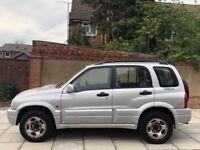 Suzuki Grand Vitara 2.0 diesel 2002 12 month mot 4x4