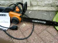 Chainsaw with manual