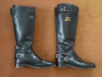 Lewis Leather motorcycle boots