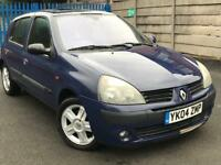 2004 RENAULT CLIO DYNAMIQUE 1.2 * 5 DOOR * PETROL* IDEAL FIRST CAR * MOT * P/X * DELIVERY