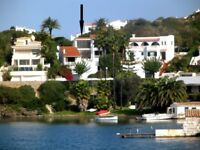 Menorca stunning waterfront villa- 1 weeks still available! Special OFFER! £1495 one week only