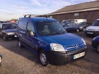 2008 CITREON BERLINGO 1560 cc DIESEL ENGINE IN VGCONDITION TOW BAR ROOF RACK LOADS OF SERVICE HISTOR