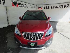 2015 Buick Encore LEATHER AWD SUNROOF NAVIGATION!!!