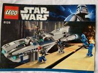 LEGO Star Wars 8128 - Cad Bane's Speeder (100% complete)
