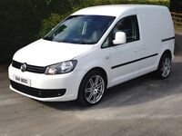 2011 Volkswagen caddy 1.6 TDI van is like new not Jetta Leon a4 golf Berlingo