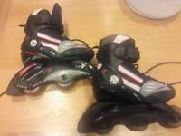 Kids/ children size 13-2 roller blades / inline skates