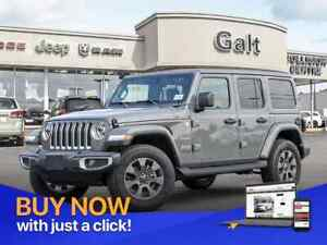 2019 Jeep Wrangler Unlimited SAHARA 4X4 | LEATHER NAV UCONNECT C