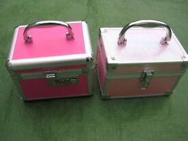Dark Pink and Light Pink Girl's Jewellery Boxes - £4.00 each or 2 for £7.00