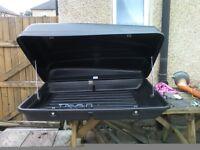 CAR ROOF BOX AUTOPLAS 350 LITRE