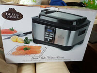 Giles and Posner Sous Vide new and unused