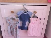 Girls dresses 3 to 6 months