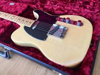 Fender USA Vintage 1977 Telecaster - Butterscotch Blonde Blackguard Looks