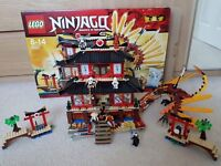 Lego Ninjago Fire Temple 2507 EXCELLENT CONDITION
