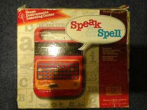 Vintage Speak and Spell