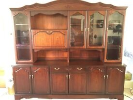Rossmore by Sherry - Mahogany display cabinet in excellent condition
