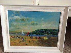 "John Ambrose RSMA (1931-2010) Signed Oil, ""a light breeze"" St Ives Cornwall"