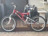 Unisex bike, Apollo scrambler 20inch mountain bike