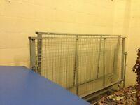 A pair of trampoline end decks safety decks for sale