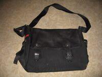 PRADA / Bag - satchel - cross-body - black - leather
