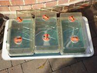 Seed propagator, electric, Garland, 3 full sized trays