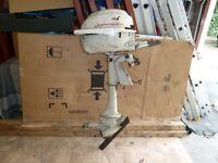 Johnson outboard motor needs restoring