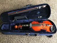 Half Size Violin Strung As Viola