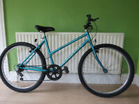 """GREAT LADIES MOUNTAIN BIKE..""""RALEIGH OASIS"""".18"""" FRAME,IN GREAT CONDITION,ALLREADY TO RIDE AWAY."""