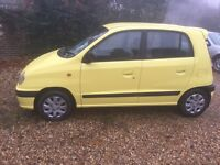 Hyundai amica 900cc si 5 door 2000 long mot low mileage px clearance cheap little car insurance