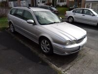 Jaguar X type estate spares or repair