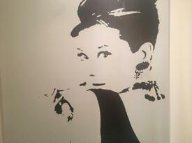 Canvas Audrey Hepburn
