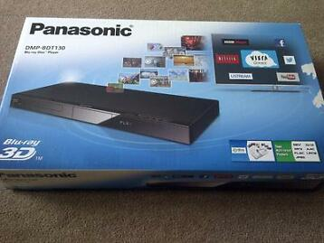 Panasonic 3d Blu Ray Player - Dmp Bdt 130, Brand New In Box