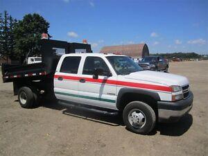 2007 Chevrolet SILVERADO 3500 4WD QUAD W/DUMP