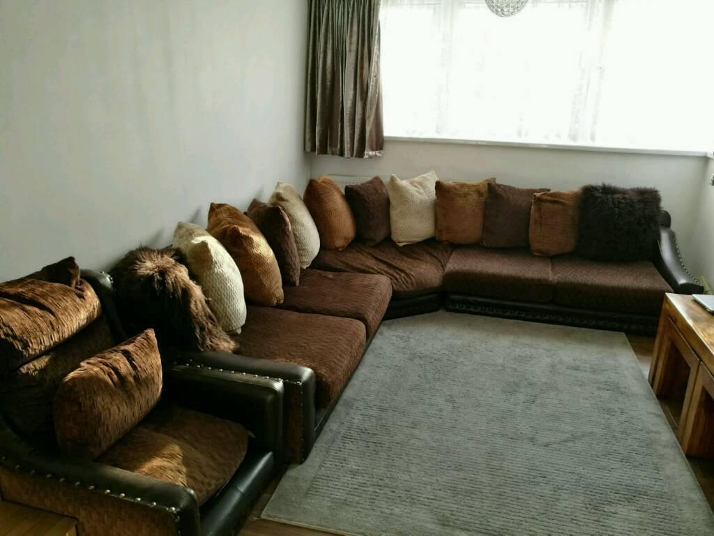 Corner Sofa Set Leather Low Arab Style Low Seating In Birmingham West Midlands Gumtree