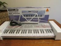 Acoustic Solutions MK-4100A Electronic Keyboard with Microphone