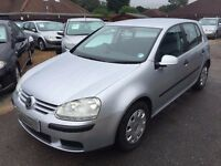 2006/06 VOLKSWAGEN GOLF 2.0 TDI GT 5DR+ SILVER, RECENT NEW CAMBELT FITTED,LOOKSAND DRIVES WELL
