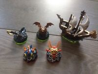 Skylanders characters for trap team and adventure pack