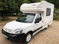 Nu Venture Surf 2 Berth Motorhome Camper Van - 2006 Citroen Berlingo 1.9D - Part Exchange Welcome