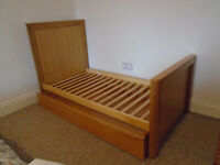 Toddler Bed with Drawer and Mattress