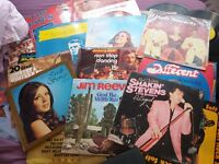 101 vinyl records from the 50's 60's and 70's