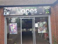 Vape Shop Lease For Sale