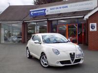 ALFA ROMEO MITO 0.9 TWINAIR DISTINCTIVE 3dr ** Low Miles and ZERO Road Tax ** (white) 2014