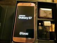 NEW!! SAMSUNG GALAXY S7 32GB ROSE GOLD